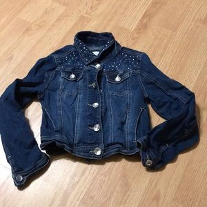 Justice Girls Jean Jacket Size 8